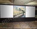 Баннер с возможностью видеопроекции на баннерное полотно