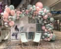Пресс волл, бренд волл с шариками