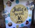 Баннер на день рождения