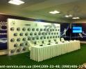 Звуковое оборудование на пресс конференцию