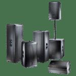 Rental of sound equipment